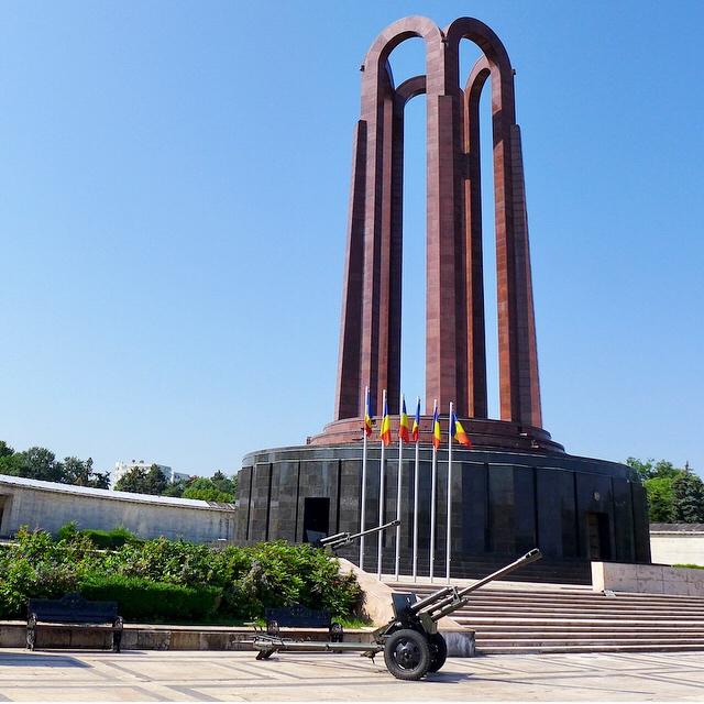 Hero's Memorial | Carol Park. Horia Maicu and Nicolae | 1963.