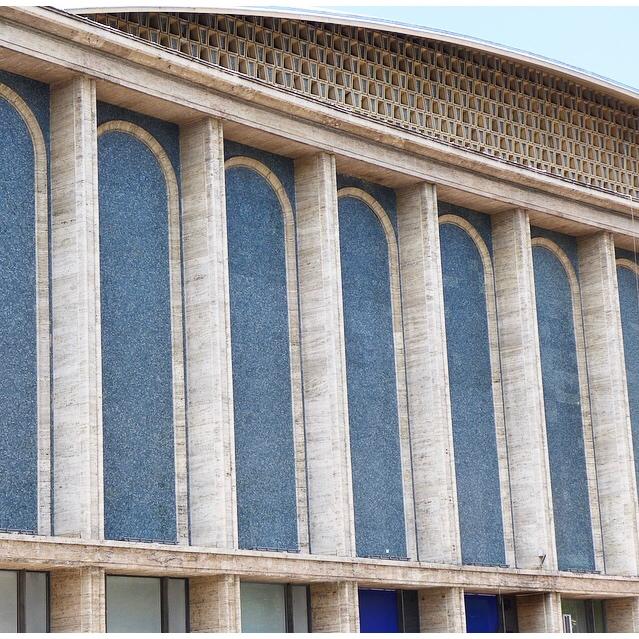 Sala Palatului | Concert Hall | Bucharest | Strada Ion, Campineanu 28, Bucuresti 010039, Romania | 1959 - 1960 Communist-era | Architect Hori Maicu